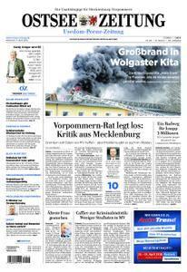Ostsee Zeitung Wolgast - 11. April 2018