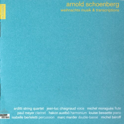 Arditti String Quartet - Arditi Quartet Edition, Volume 2: Arnold Schoenberg - Weihnachtsmusik & Transcriptions