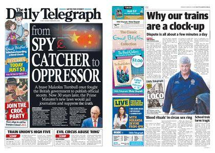 The Daily Telegraph (Sydney) – February 06, 2018