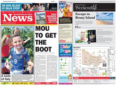 Shepparton News – March 21, 2019