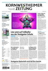 Kornwestheimer Zeitung - 29. August 2017