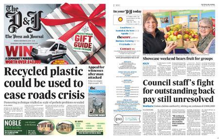The Press and Journal Moray – November 18, 2019