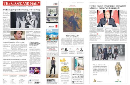 The Globe and Mail – September 19, 2019