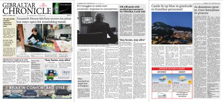 Gibraltar Chronicle – 27 March 2020