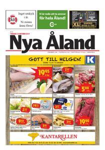 Nya Åland – 10 oktober 2019