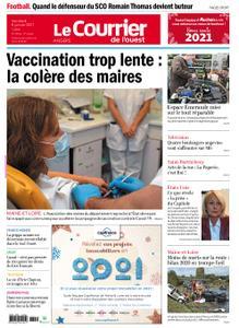 Le Courrier de l'Ouest Angers – 08 janvier 2021