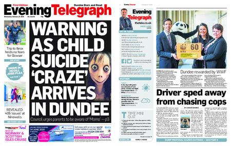 Evening Telegraph First Edition – February 27, 2019