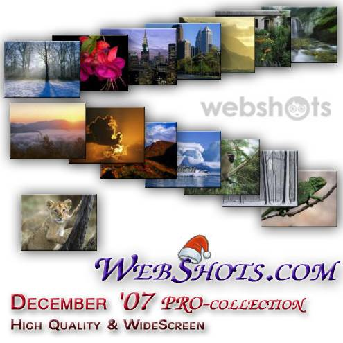 WebShots premium + wide screen content (December '07 collection)