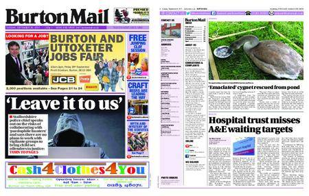 Burton Mail – September 26, 2017