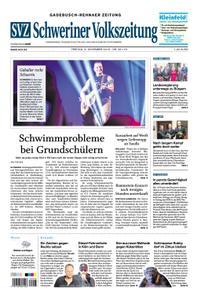 Schweriner Volkszeitung Gadebusch-Rehnaer Zeitung - 09. November 2018