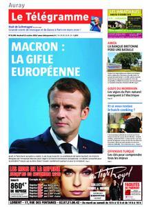 Le Télégramme Auray – 11 octobre 2019