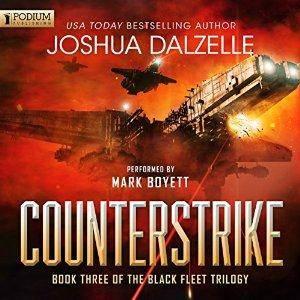 Counterstrike: Black Fleet Trilogy, Book 3 by Mark Boyett