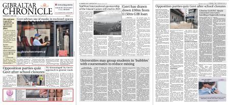 Gibraltar Chronicle – 03 June 2020