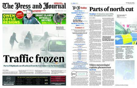 The Press and Journal Moray – March 02, 2018