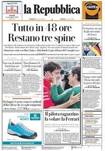la Repubblica - 2 Settembre 2019
