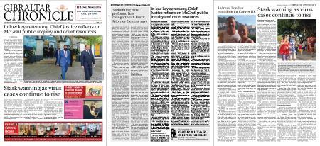 Gibraltar Chronicle – 03 October 2020