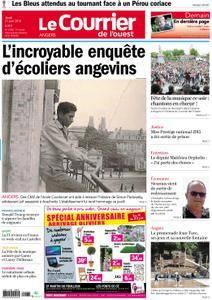 Le Courrier de l'Ouest Angers - 21 juin 2018