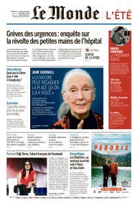 Le Monde du Dimanche 11 et Lundi 12 Août 2019