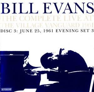 """Bill Evans """"The Complete Live At The Village Vanguard""""  1961 _CD3"""