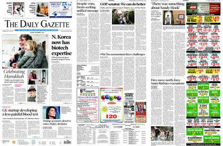 The Daily Gazette – December 11, 2017