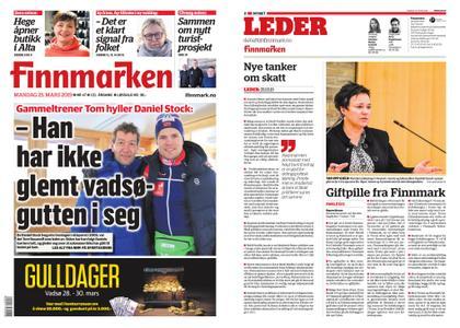 Finnmarken – 25. mars 2019