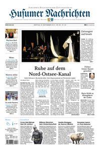 Husumer Nachrichten - 23. September 2019