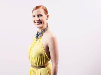 Jessica Chastain by Mark Davis Portraits at the American Cinematheque Award 2014