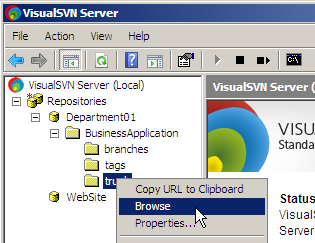 VisualSVN Server Enterprise 2.1.6