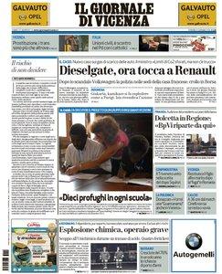 Il Giornale Di Vicenza - 15 Gennaio 2016
