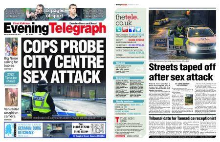 Evening Telegraph First Edition – November 24, 2017