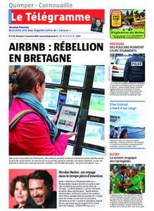 Le Télégramme Ouest Cornouaille – 03 novembre 2019