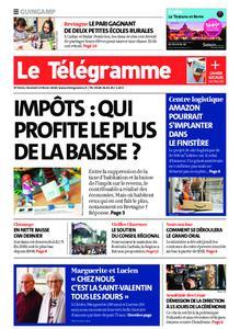 Le Télégramme Guingamp – 14 février 2020