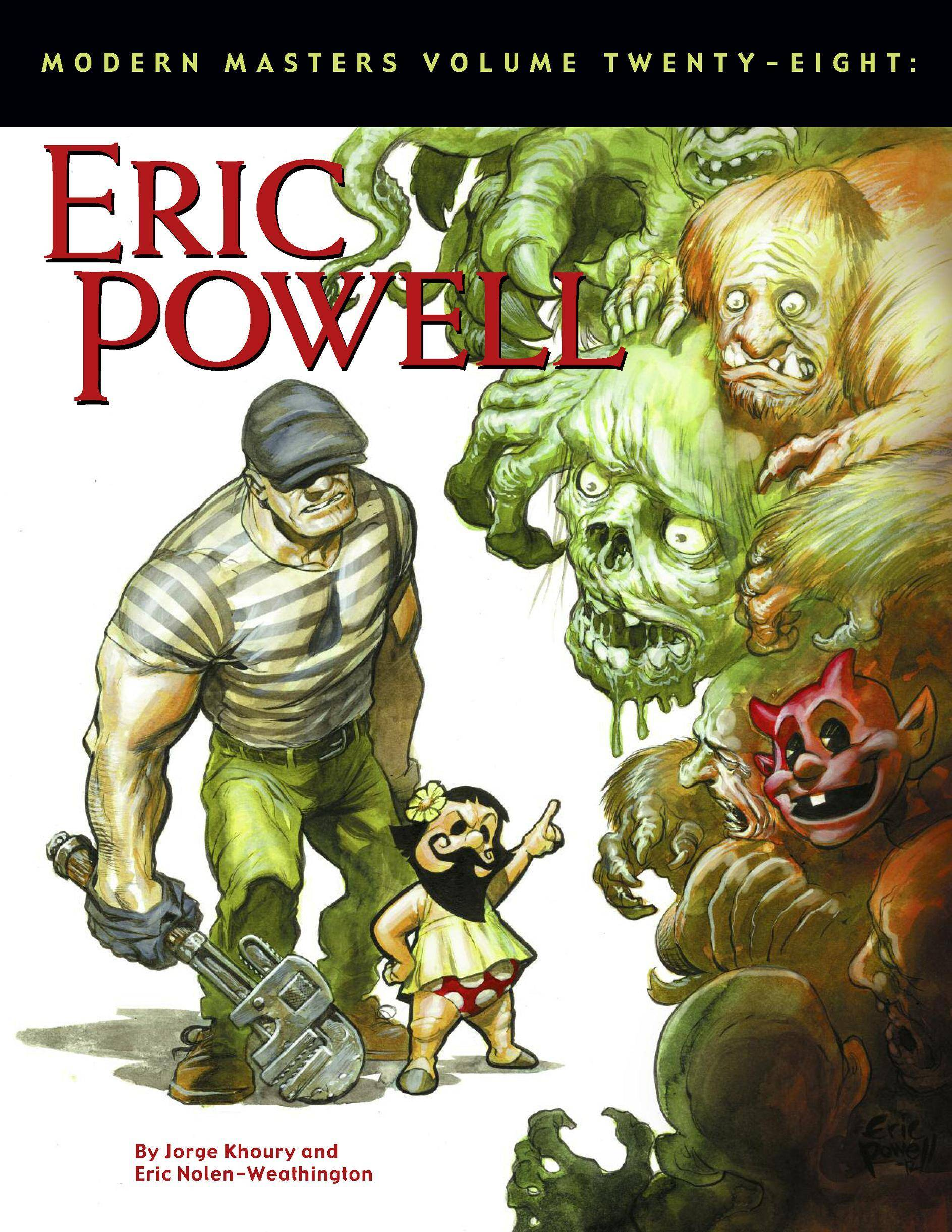 Modern Masters Vol 28 - Eric Powell 2012 Project Ozma