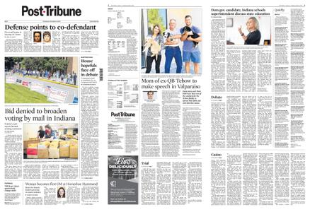 Post-Tribune – October 08, 2020