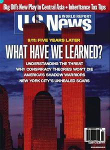 US News and World Report Magazine Sep 11 06