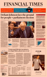 Financial Times UK – 26 September 2019