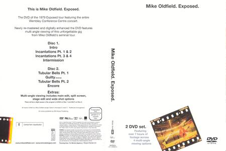 Mike Oldfield - Exposed (2005) [2 x DVD-9] Repost