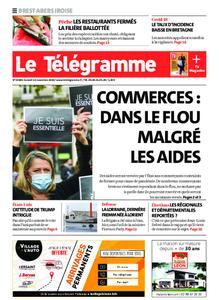 Le Télégramme Brest Abers Iroise – 14 novembre 2020