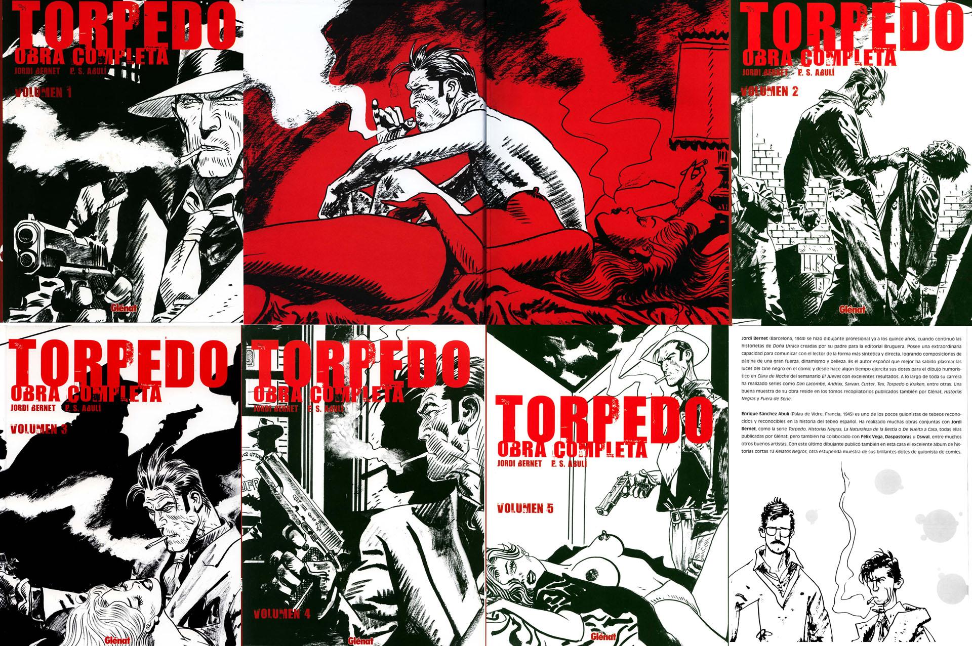 Torpedo Obra completa: Vol 1 - Vol 5