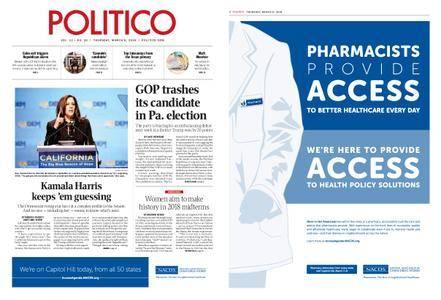 Politico – March 08, 2018