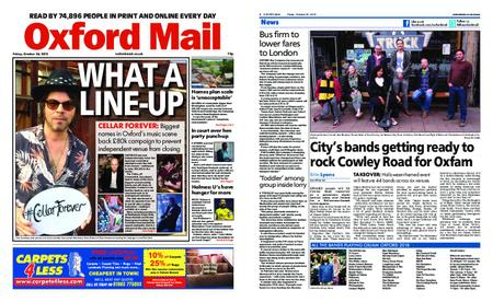 Oxford Mail – October 26, 2018