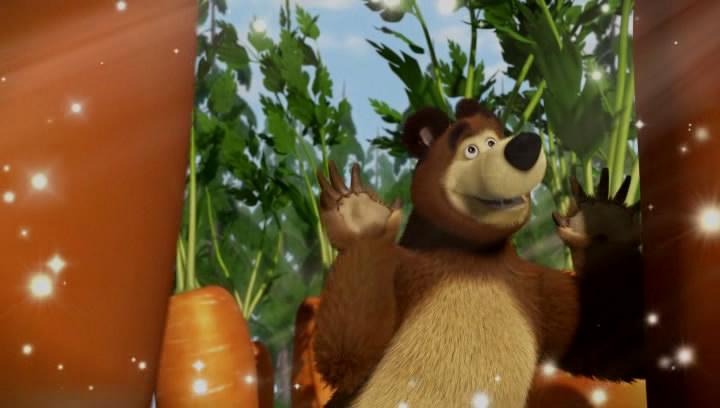 маша и медведь граница на замке картинки