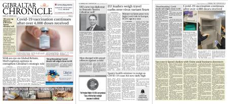 Gibraltar Chronicle – 22 January 2021