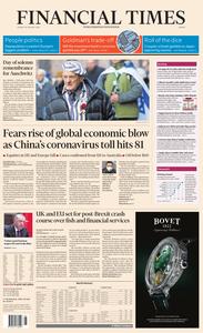 Financial Times Europe – 28 January 2020