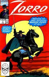 Zorro 001 1990 Marvel Krypto
