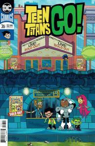 Teen Titans Go! 036 print edition 2019