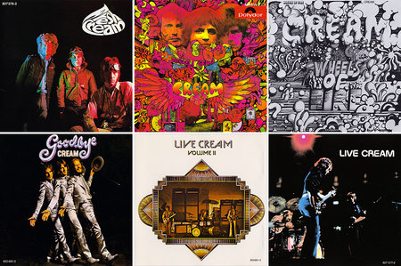 Cream - Albums Collection 1966-1972 (7CD) Non-Remastered Releases [Re-Up]