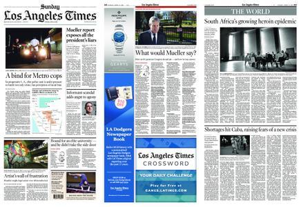 Los Angeles Times – April 21, 2019
