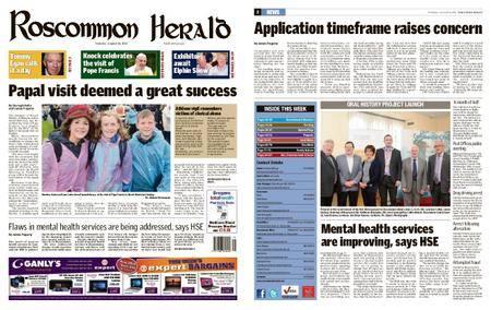 Roscommon Herald – August 28, 2018