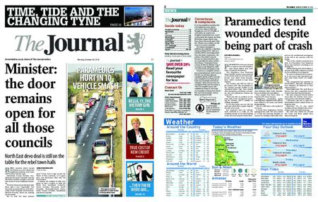 The Journal – October 29, 2018